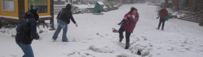 Do USA przyszła zima: 6 centymerów śniegu w Appalachach