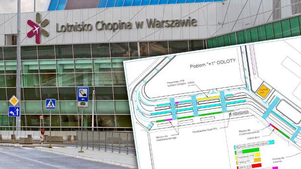 Zmiany w organizacji ruchu przy lotnisku Lotnisko im. Chopina w Warszawie