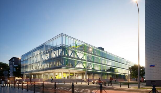 Planowany budynek przy Dobrej Kuryłowicz & Associates