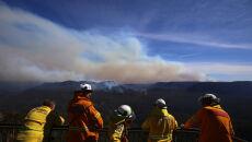 Pożary w Nowej Południowej Walii (PAP/EPA/STEVEN SAPHORE)