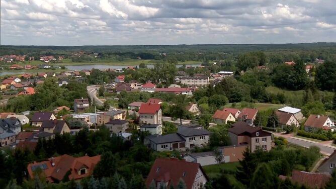 Piramida, kartacze i stare miasto. <br />Aktywny odpoczynek w Gołdapi