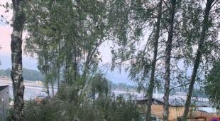 Wtorkowa pogoda w Olsztynie (Kontakt 24/Jacek)
