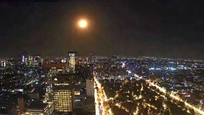 To nie Księżyc, ale ślad po płonącej skale