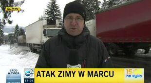 Leszek Kabłak o sytuacji na Zakopiance (TVN24)